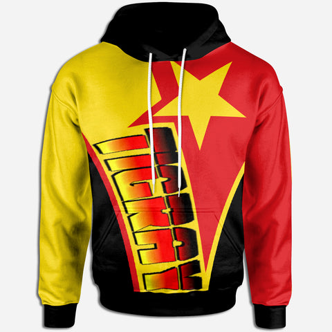 1sttheworld Hoodie - Tigray In My Heart - Tigray Original Flag - BN21