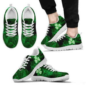 SHAMROCK WHITE SNEAKERS