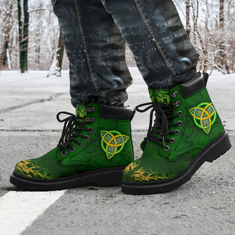 Celtic Knot All-Season Boots - Celtic Green - BN01