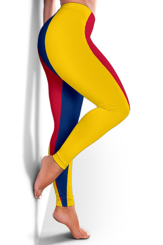 Chad Flag Women's Leggings A31