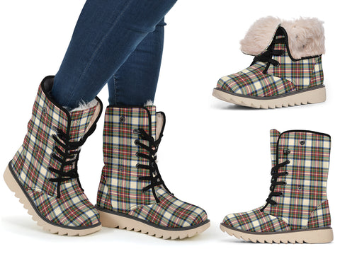 Stewart Dress Ancient Tartan Polar Boots Hj4