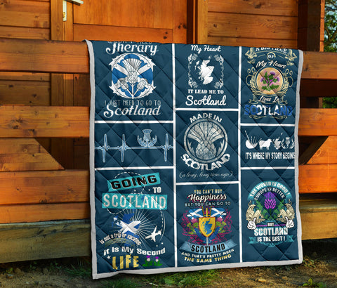 Image of Scotland Premium Quilt