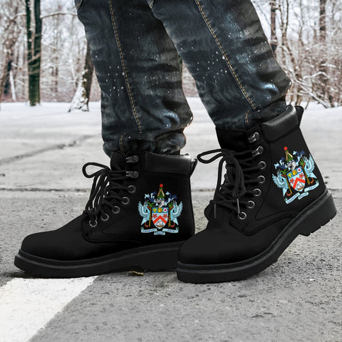 Saint Kitts and Nevis All-Season Boots | Footwear | Shoes | 1sttheworld.com