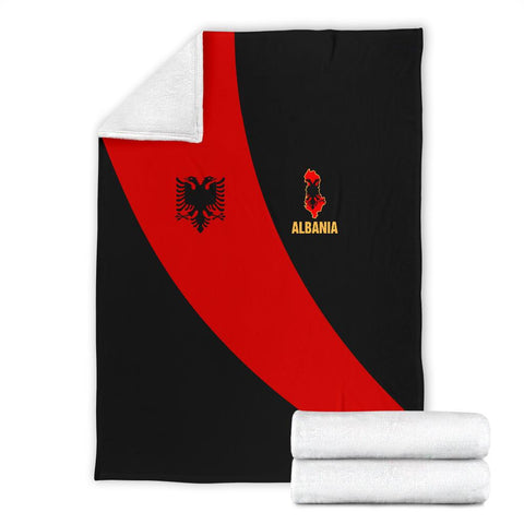 Image of Albania Premium Blanket Special Flag A21
