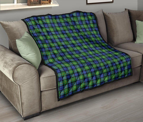Image of Gordon Old Ancient Tartan Premium Quilt TH8