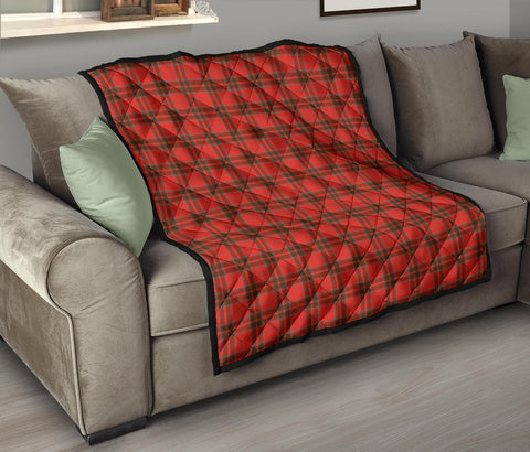 Grant Weathered Tartan Premium Quilt TH8