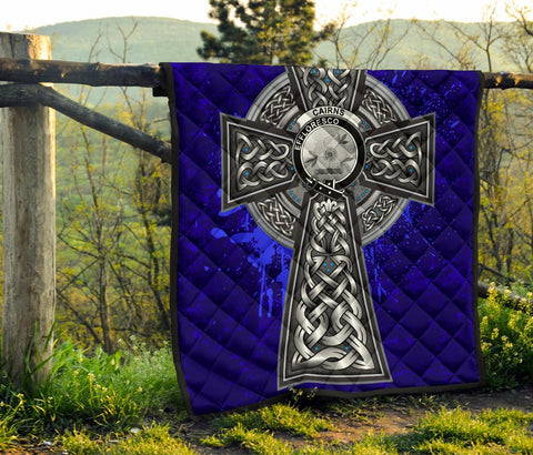 Cairns Crest Scottish Celtic Cross Scotland Quilt A7