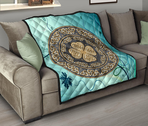 Celtic Shield Premium Quilt A6