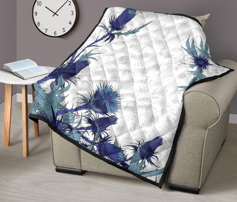 Image of Scotland Thistle 2nd Premium Quilt A6