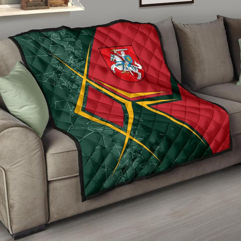 Image of Lithuania Premium Quilt - Lithuania Legend