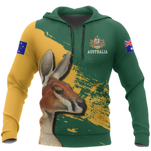 Image of Australia Kangaroo Hoodie | Men & Women | Clothing