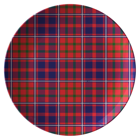 Image of Cameron Of Lochiel Modern  Tartan Dinner Plate A9 |Dinnerware| Love The World