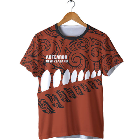 New Zealand - Aotearoa T-shirt (Brown) A6