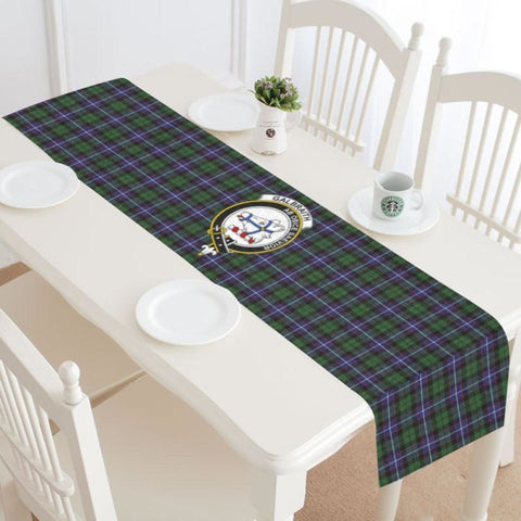 Image of Galbraith Modern Tartan Table Runner - Tm Runners