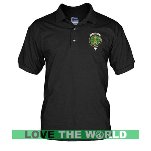 Image of Galloway Badge Men Tartan Polo Shirt | Over 300 Clans Tartan | Special Custom Design | Love Scotland