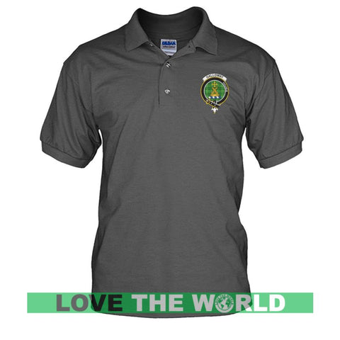 Galloway Badge Men Tartan Polo Shirt | Over 300 Clans Tartan | Special Custom Design | Love Scotland