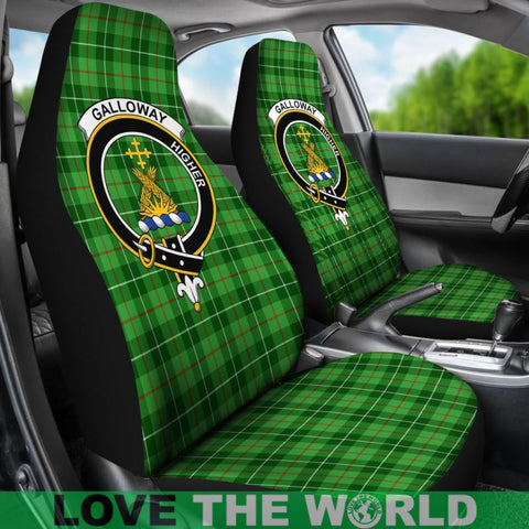 Galloway Clan Badges Tartan Car Seat Cover Ha5