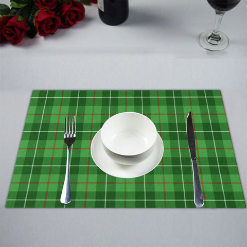 Galloway District Tartan Placemat 14 Inch X 19 (Six Pieces) - Tk1 Placemats