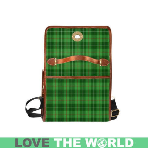 Galloway District Tartan Canvas Bag | Waterproof Bag | Scottish Bag