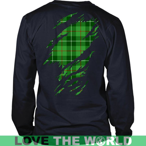 Image of Galloway Tartan Shirt And Tartan Hoodie In Me