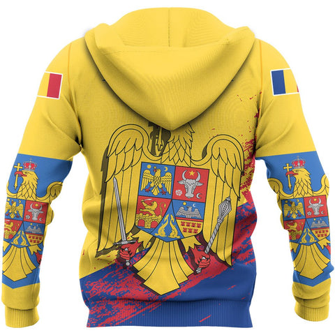 Image of Romania Special Zipper Hoodie | Women and Men | Hot Sale