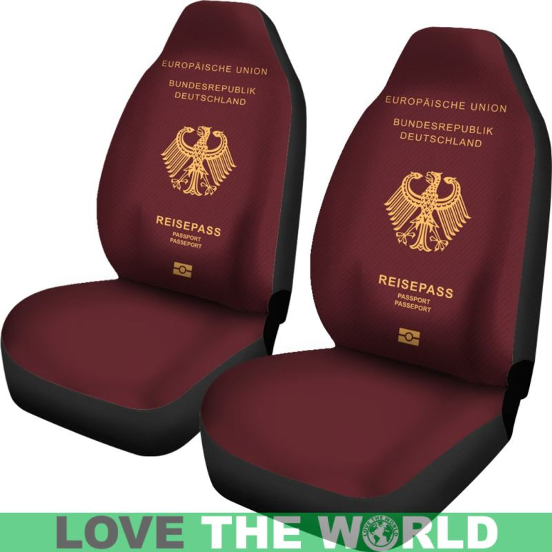 Germany Passport Car Seat Cover