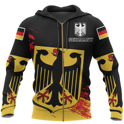 Germany Special Zipper Hoodie | Women & Men | High Quality Printing