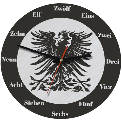 German eagle,German clock,German wall clock,GERMAN,Eagle wall clock,Black Eagle,Germany eagle clock,Germany eagle wall clock,Germany symbol,Germany eagle,Germany wall clock,Germany wooden wall clock,Germany clock,Germany,CLOCK,WALL CLOCK,WOODEN WALL CLOCKS,HOME DECOR