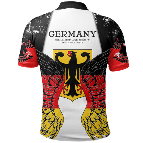 Germany Eagle Wings Polo Shirt K5