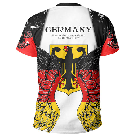 Germany Eagle Wings T Shirt K5
