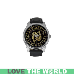 GOLDEN STYLE ZODIAC - PISCES LUXURY WATCH TH7