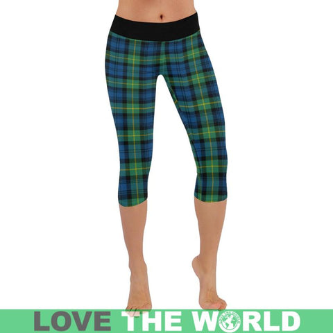 Gordon Ancient Tartan Capri Legging S2 Leggings