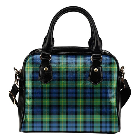 Tartan Shoulder Handbag - Gordon Ancient