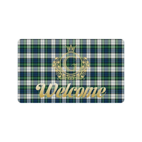 Gordon Dress Ancient Tartan Doormat HJ4 |Home Set| Love The World