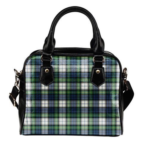 Tartan Shoulder Handbag - Gordon Dress Ancient