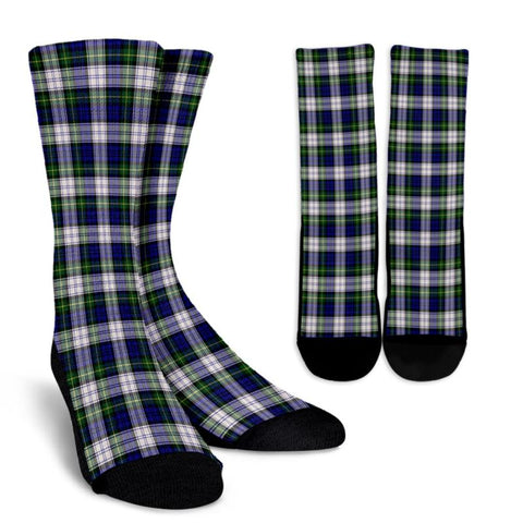 Gordon Dress Modern Tartan Socks, scotland socks, scottish socks, Xmas, Christmas, Gift Christmas, noel, christmas gift, tartan socks, clan socks, crew socks, warm socks