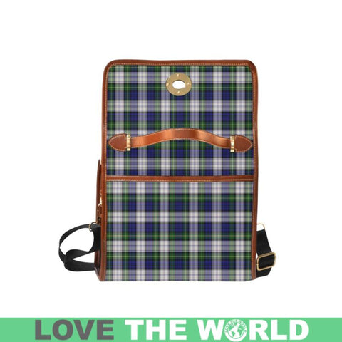 Image of Gordon Dress Modern Tartan Canvas Bag | Waterproof Bag | Scottish Bag