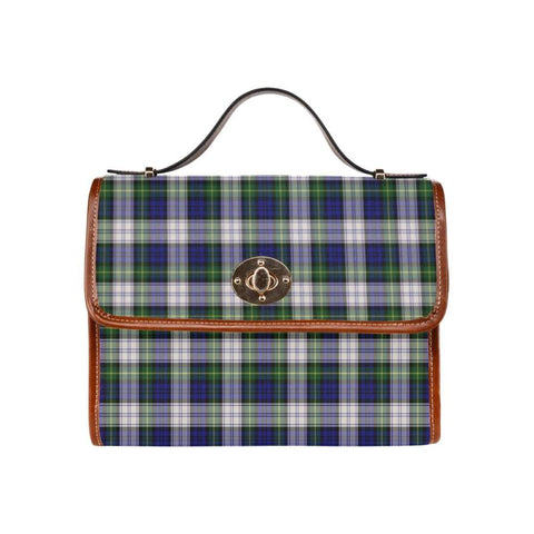 Gordon Dress Modern Tartan Canvas Bag | Waterproof Bag | Scottish Bag