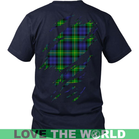 Image of Gordon In Me T-Shirt S12 District Long Sleeve Shirt / Navy S T-Shirts