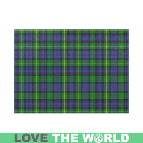 Image of Gordon Modern Tartan Placemat 14 Inch X 19 (Six Pieces) - Tk1 Placemats
