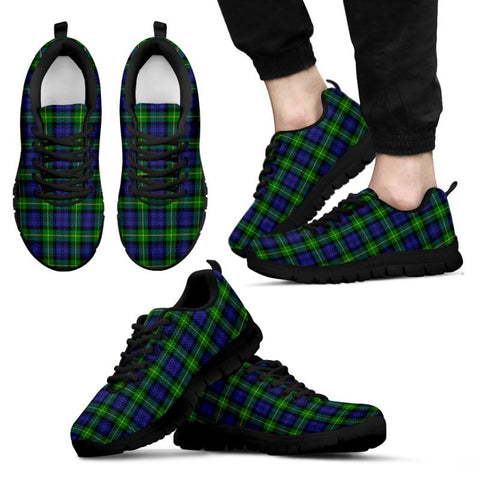 Gordon Modern Tartan Sneakers - Bn Mens Sneakers Black 1 / Us5 (Eu38)