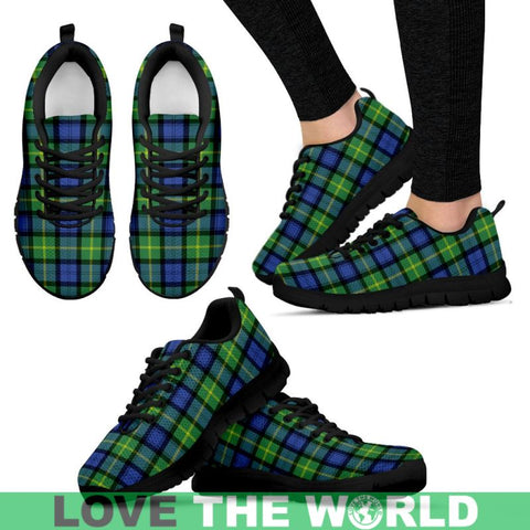Gordon Old Ancient Tartan Sneakers - Bn Mens Sneakers Black 1 / Us5 (Eu38)