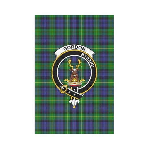 Gordon Tartan Clan Badge Garden Flag K7 |Home Decor| 1sttheworld