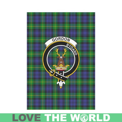 Image of Gordon Tartan Clan Badge Garden Flag K7 |Home Decor| 1sttheworld