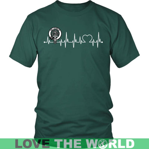 Image of Graham In My Heartbeat N9 Gildan Womens T-Shirt / Black S T-Shirts