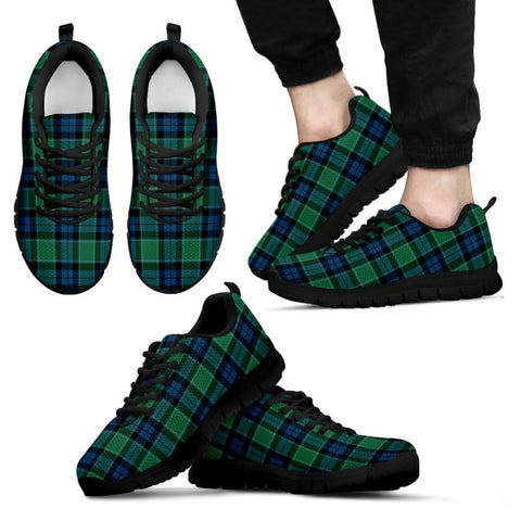 Graham Of Menteith Ancient Tartan Sneakers - Bn Mens Sneakers Black 1 / Us5 (Eu38)