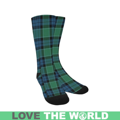 Graham Of Menteith Ancient Tartan Trouser Socks Hj4