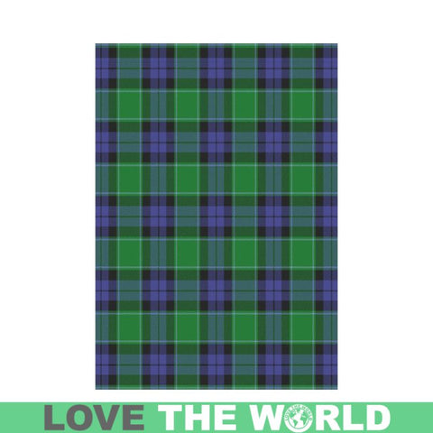 Graham Of Menteith Modern Tartan Flag K7 |Home Decor| 1sttheworld