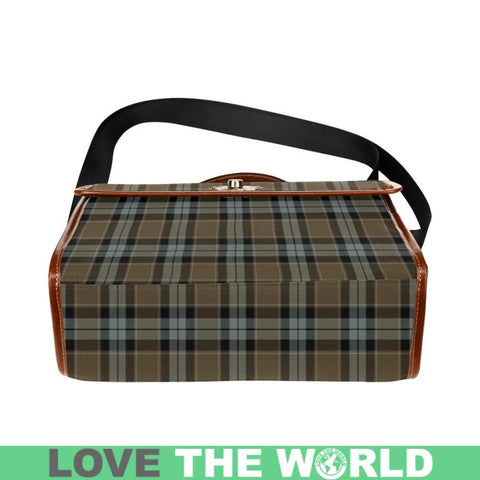 Graham Of Menteith Weathered Tartan Plaid Canvas Bag | Online Shopping Scottish Tartans Plaid Handbags