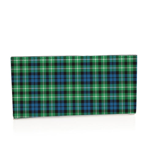Graham Of Montrose Ancient Tartan Long Leather Wallet S1 Style-1 Bifold Wallets
